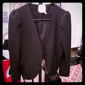 Size small black womens blazer jacket